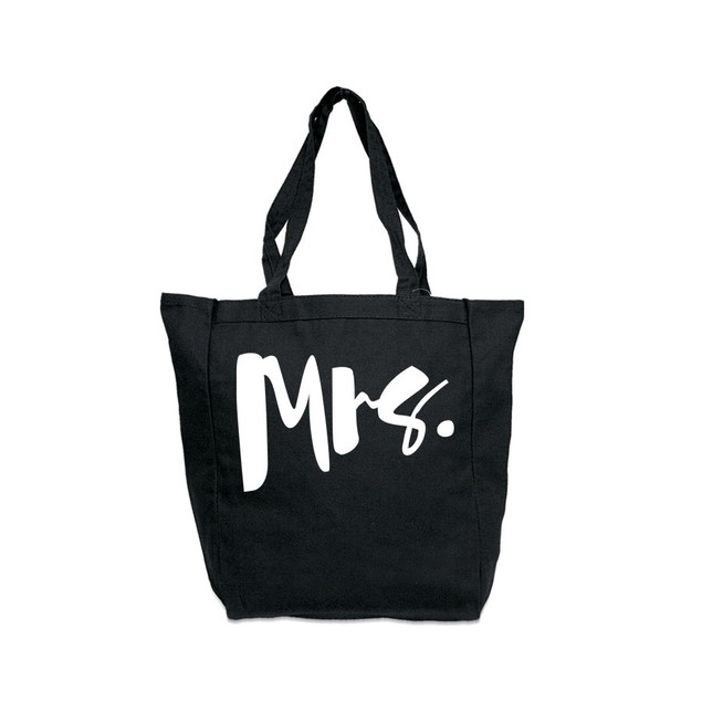 Mrs. Black Tote Bag