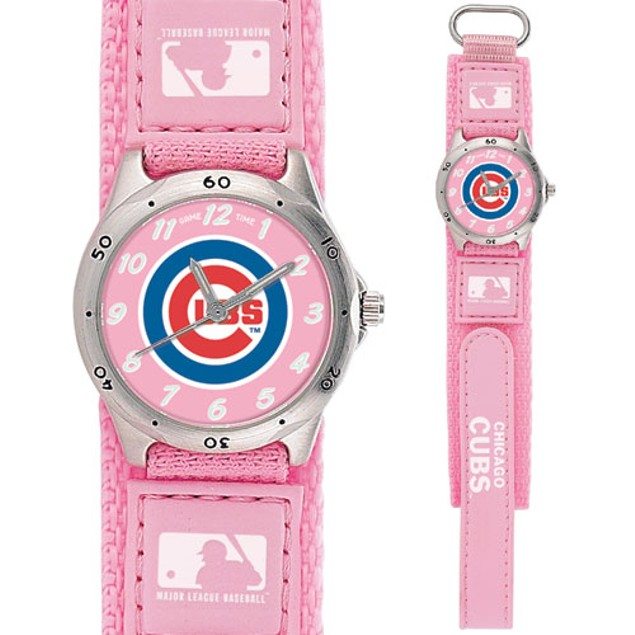 Chicago Cubs Girls MLB Watch