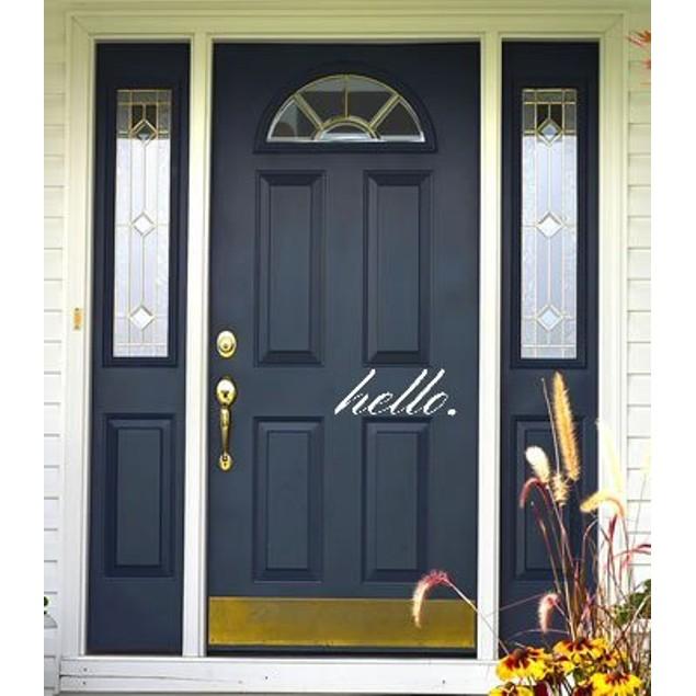Hello Door Decal 6