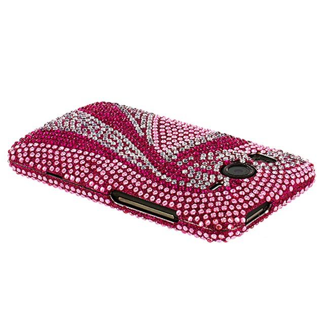 HTC Inspire 4G Diamond Rhinestone Bling Case Cover