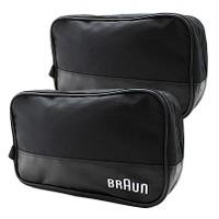 2-Pack: Braun Men's Black Travel Bags