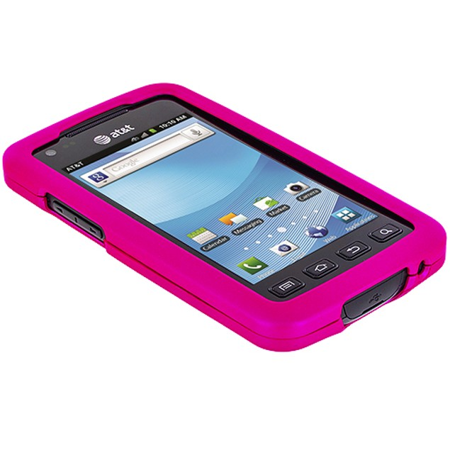 Samsung Rugby Smart i847 Hard Rubberized Case Cover