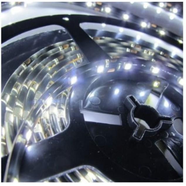 Zone Tech Waterproof White 3528 300 LED 5M Flexible Light Strip Car 12V