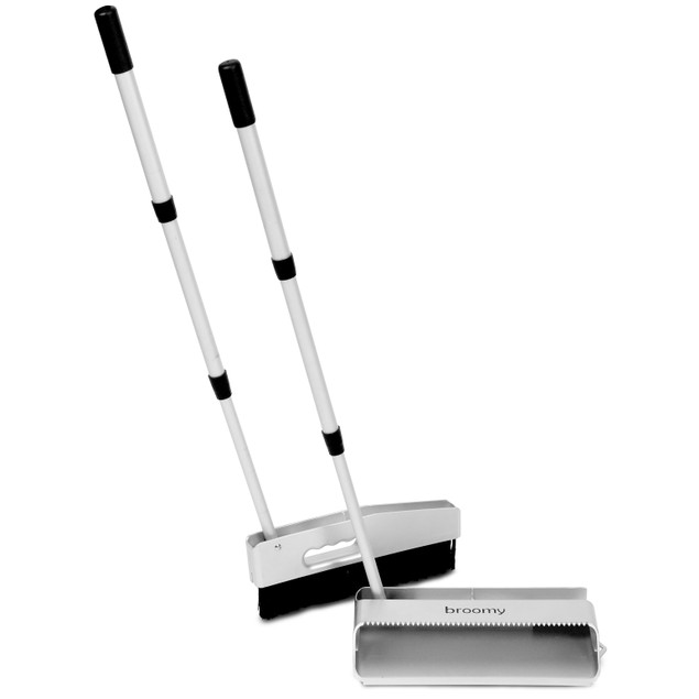 MicroKLeN Broomy Foldable Broom and Dustpan