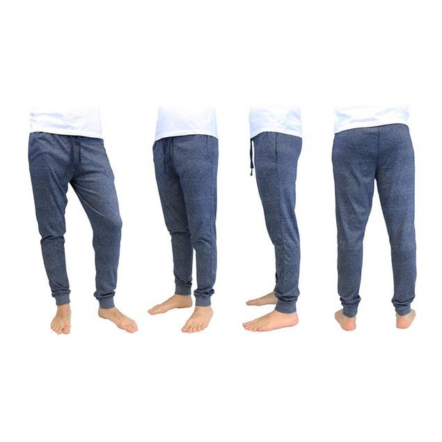 Men's Soft Knit Marled Jogger Lounge Pants (S-2X)