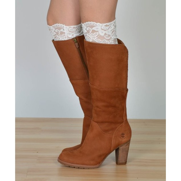 Sassy Lace Boot Cuffs - 2 Colors