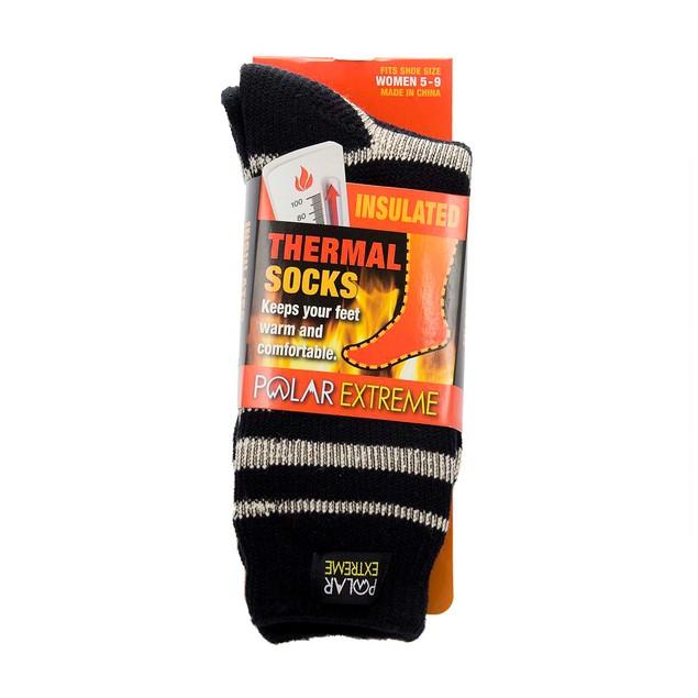 4-Pack Polar Extreme Thermal Unisex Socks