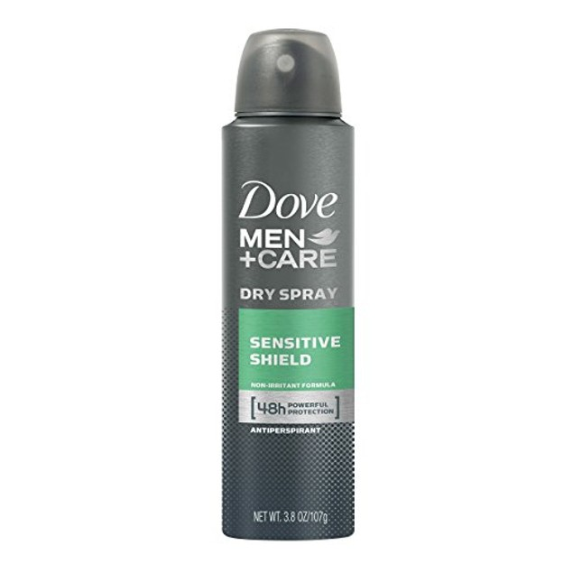 6-Pack Dove Men + Care Clean Comfort Spray Deodorant & Antiperspirant
