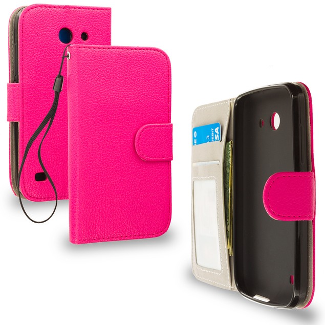 Huawei Tribute Fusion 3 Y536A1 Wallet Pouch Case Cover with Slots