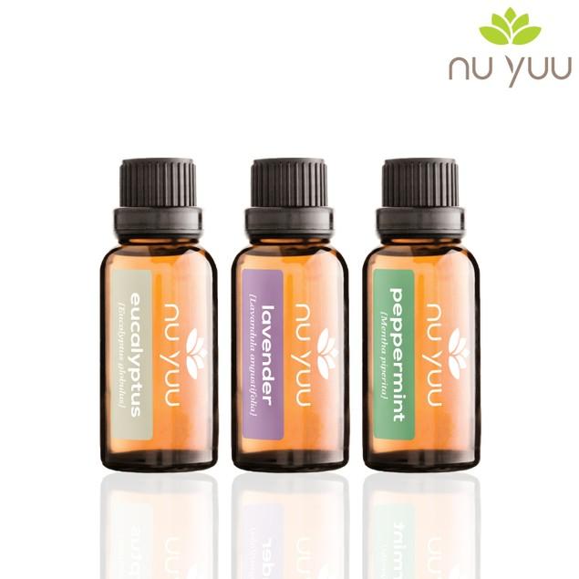 Pure & Natural: Eucalyptus, Lavender, Peppermint