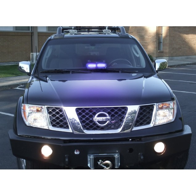 Zone Tech 16 LED Emergency Car Dash Warning Strobe Flash Light Blue