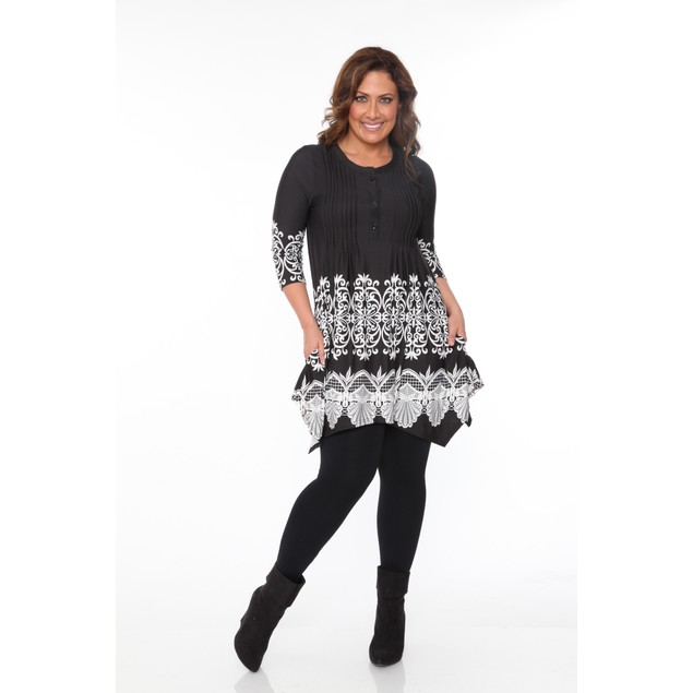 Plus Size Lucy Tunic Top - 3 Colors