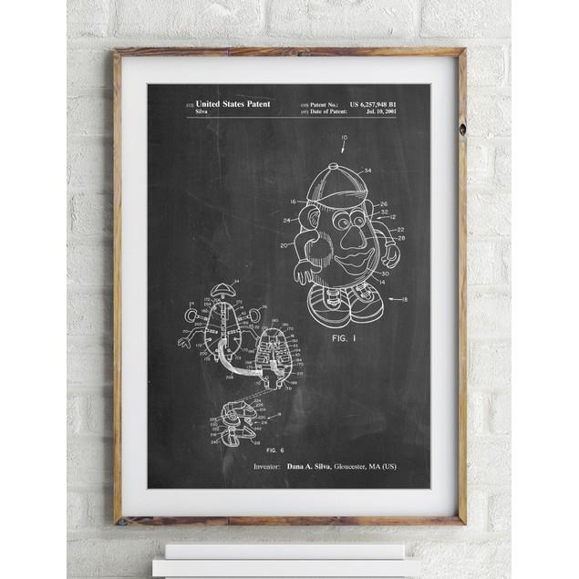 Potato Head Patent Poster