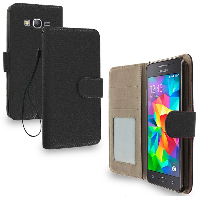 Samsung Galaxy Grand Prime LTE G530 Wallet Pouch Case Cover with Slots