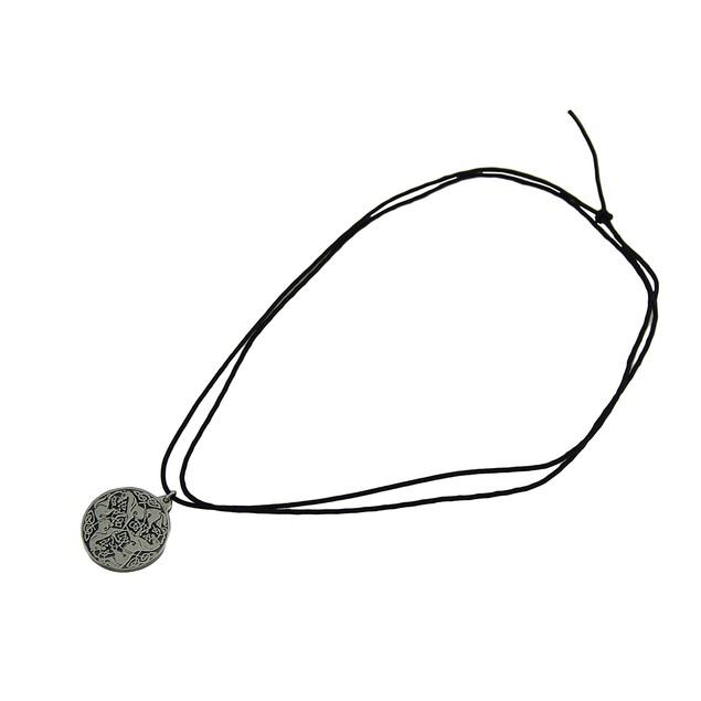 Solid Pewter Celtic Horses Endless Knot Talisman Mens Pendant Necklaces