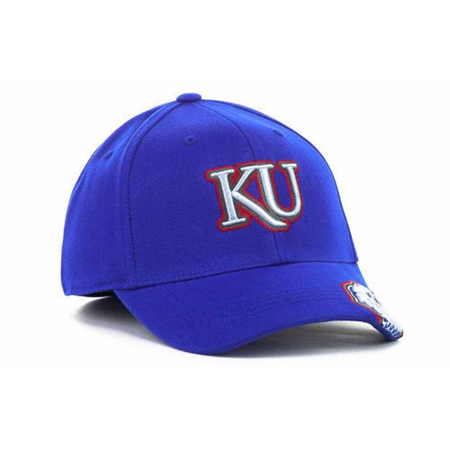 """Kansas Jayhawks NCAA TOW """"All Access"""" Stretch Fitted Hat"""