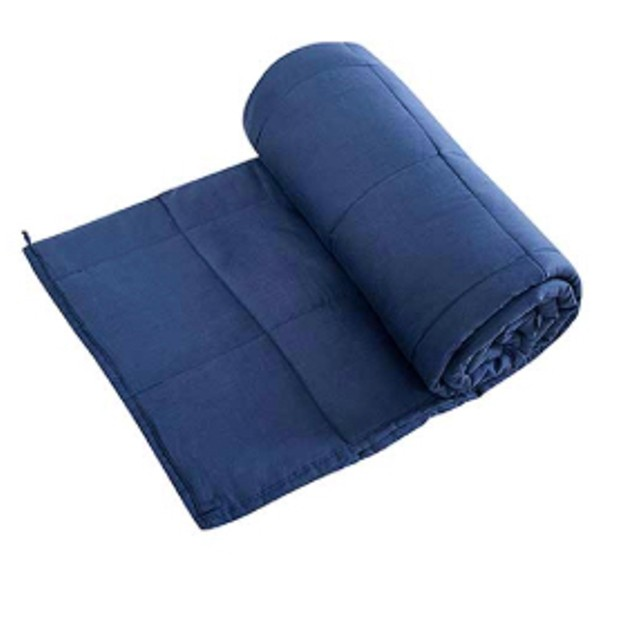 "100% Cotton Weighted Blanket 48"" x 72"" (15 lbs)"