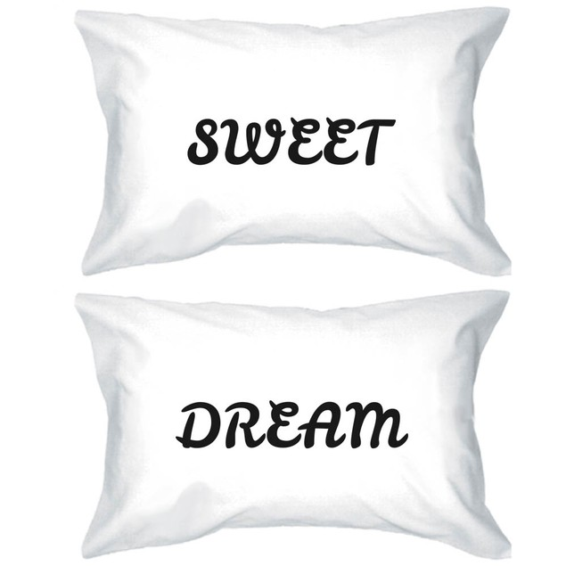 Sweet Dream Bold Statement Pillowcases