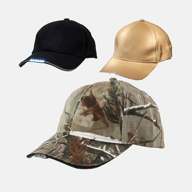 ProLED Baseball Cap with Built-In 5-LED Flashlight
