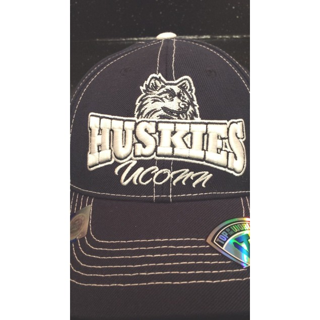 """Connecticut Huskies NCAA TOW """"Xpansion"""" Adjustable Hat New With Tags"""