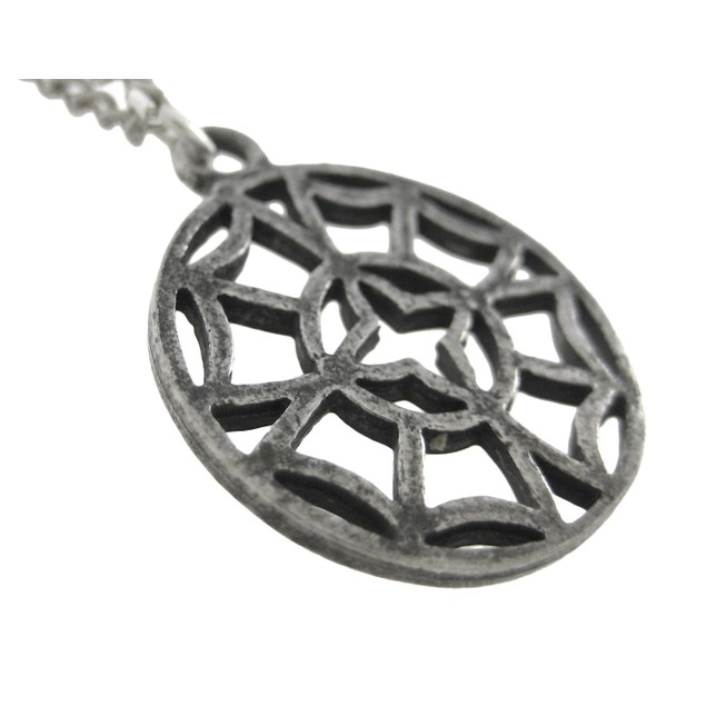 Viking North Star Pendant / Necklace Pewter Mens Pendant Necklaces