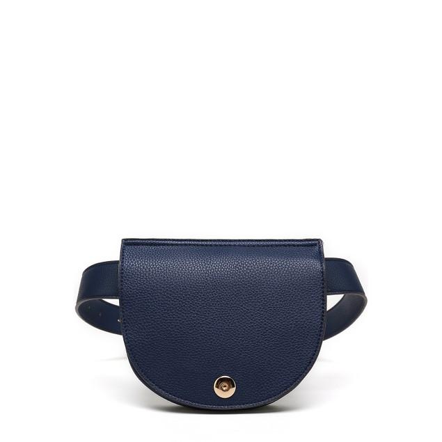 MKF Collection Daksha Half Moon Belt Waist Bag