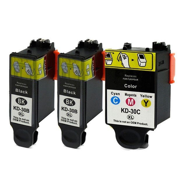 Kodak 30XL Compatible Ink - 3 pack (High Yield)