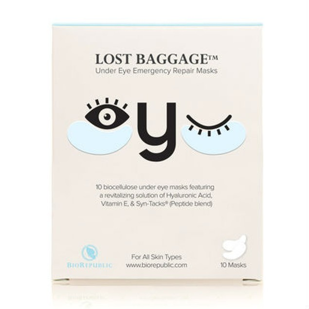 20-Pack BioRepublic Lost Baggage Urgent Eye Repair Masks