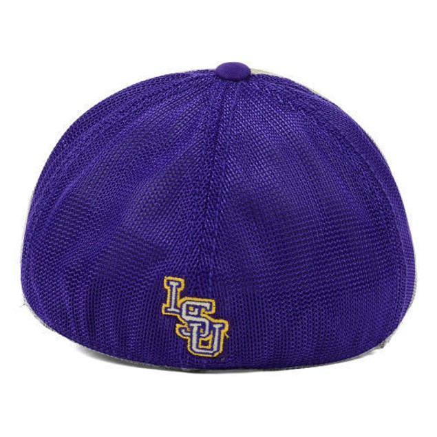 "LSU Tigers NCAA TOW ""Honors Flex"" Stretch Fitted Hat"