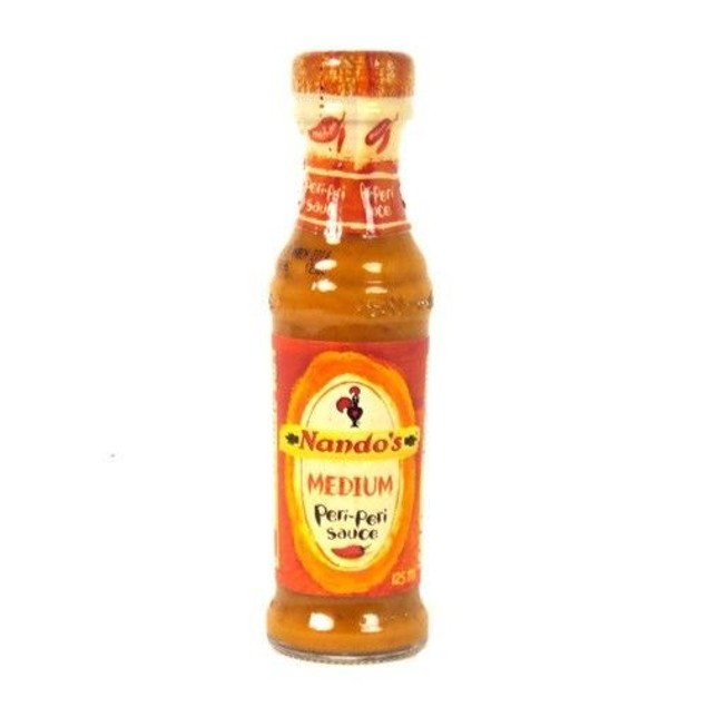 Nando's Medium Peri-Peri Sauce 4.7 oz Bottle