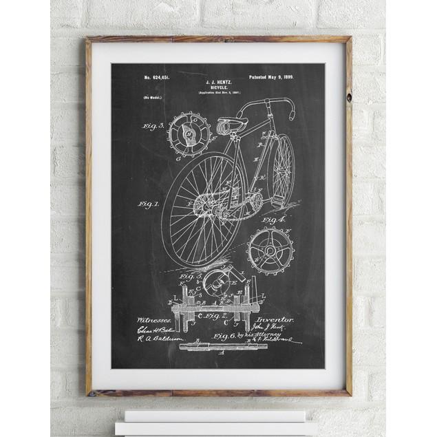 Racing Bicycle Poster