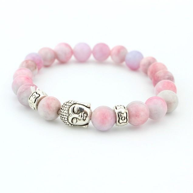 Pink Gemstones Bracelet