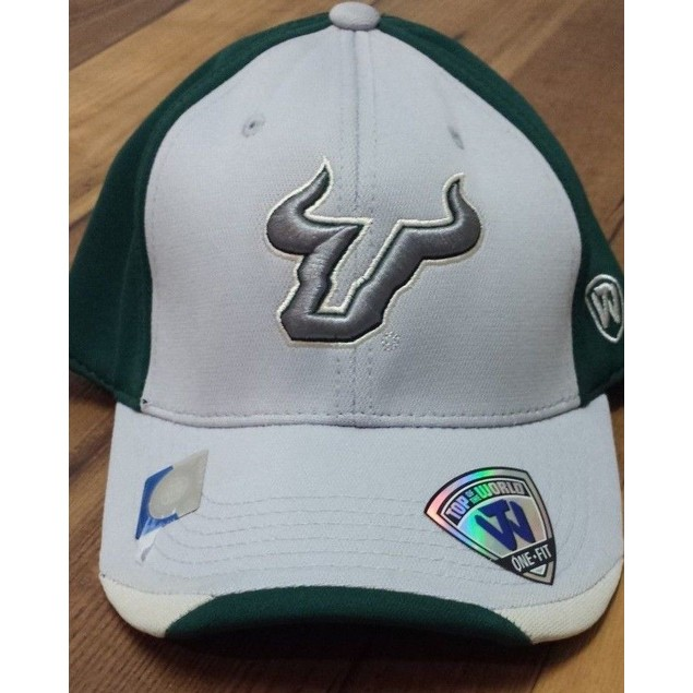"South Florida Bulls NCAA TOW ""Grizzly"" Stretch Fitted Hat"