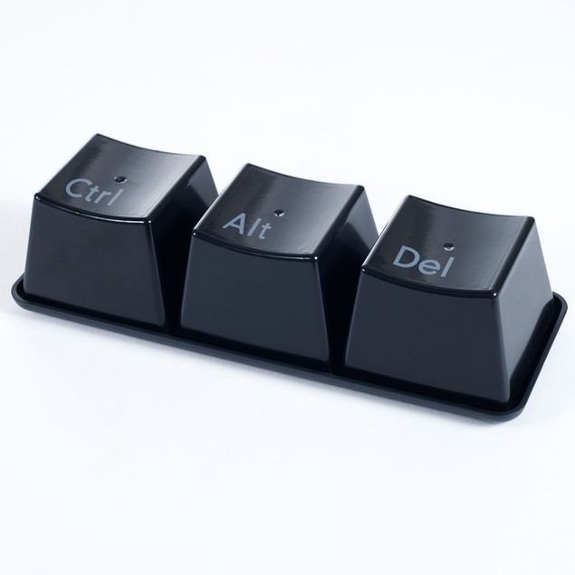 Ctrl-Alt-Delete Hot and Cold Cup Set 4 piece