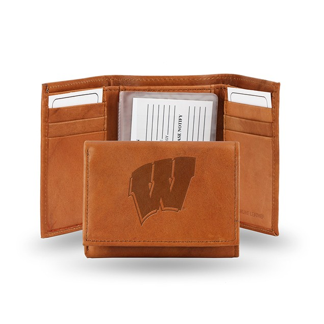 Wisconsin Leather Manmade Trifold