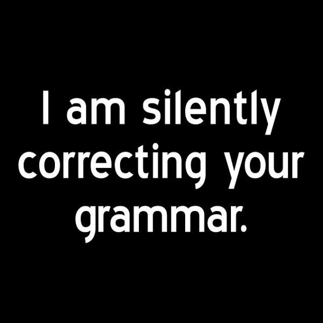 Silently Correcting Grammar T-Shirt