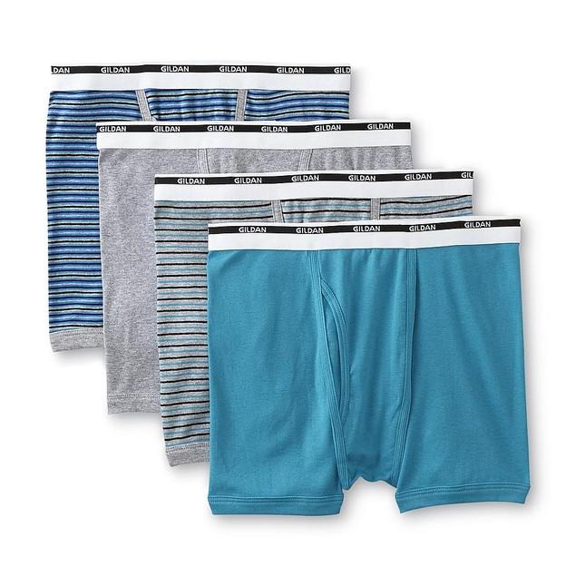 4-Pack Gildan Men's 100% Cotton Briefs