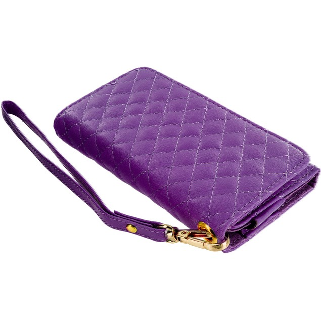 Apple iPhone 5 Luxury Wallet Pouch Phone Holder