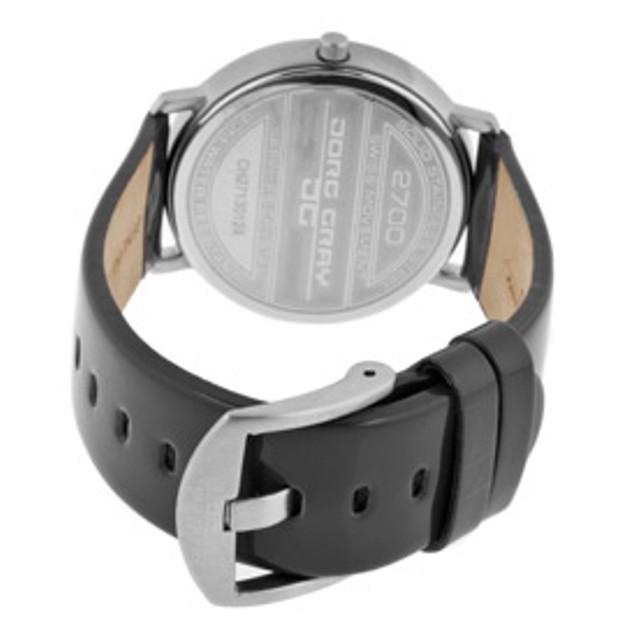 Jorg Gray Men's Black Dial Black Patent Genuine Leather