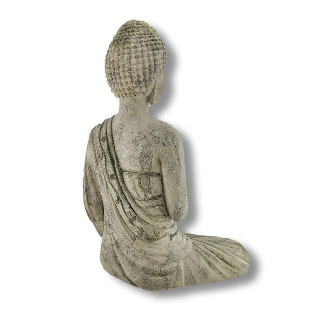 Volcanic Ash Stone Buddha Dispelling Fear Statues