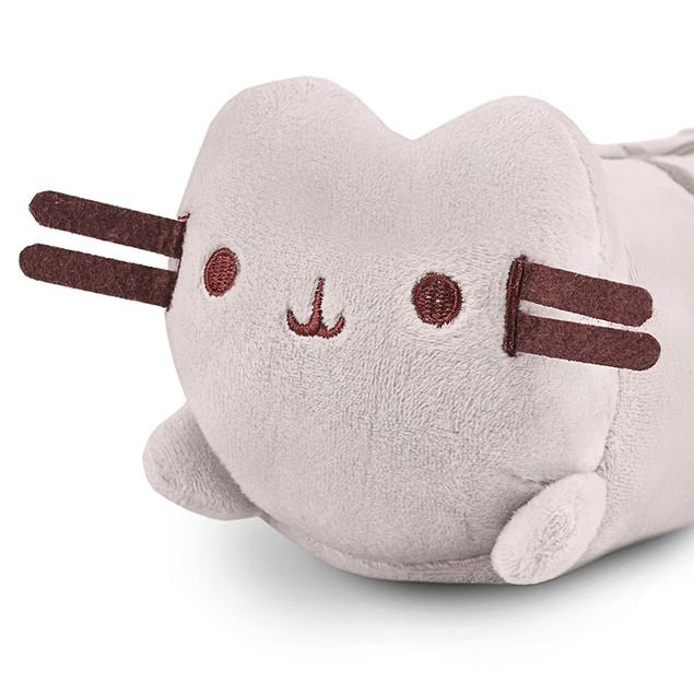 Cute and Adorable Plush Cat Pencil & Pen Case School Accessory 8.5''