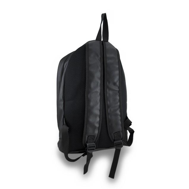 Embossed Skulls Quilted Vinyl Backpack Basic Multipurpose Backpacks