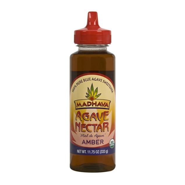 """Madhava Agave Nectar Amber """"Miel de Agave"""" 11.75 oz."""