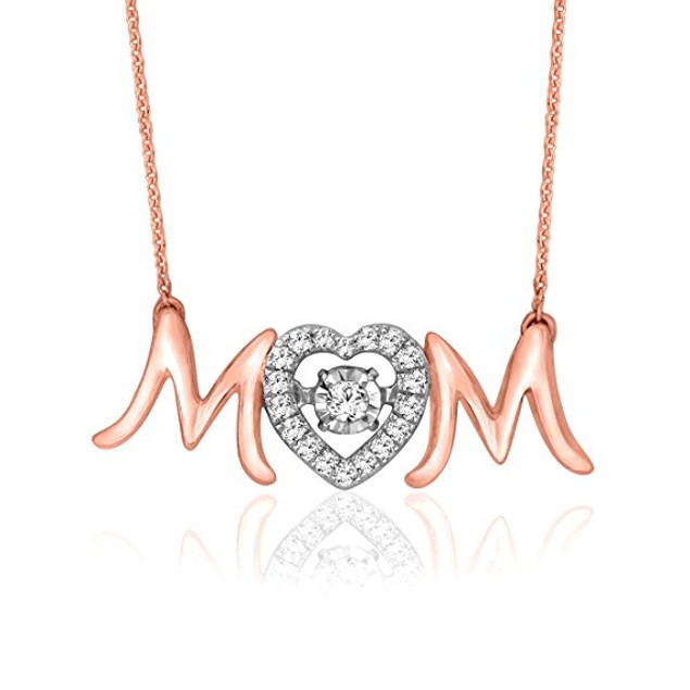 Mom Rose Gold Necklace