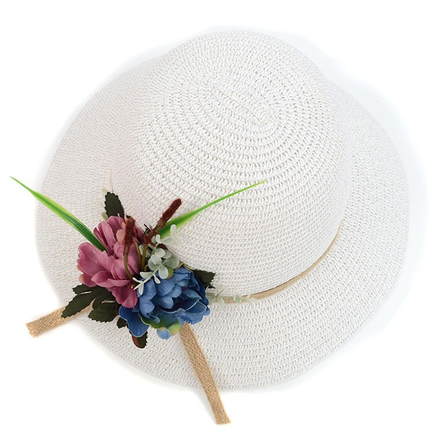 Women'sFlower Floppy Hat