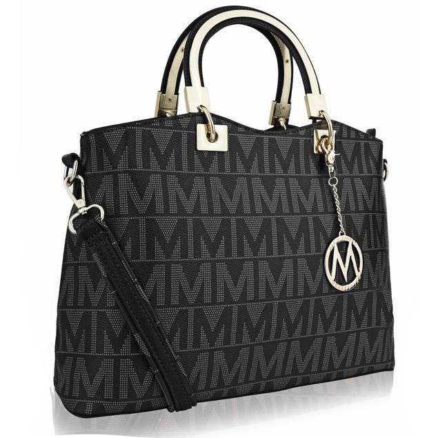 MKF Collection Galilea Milan M Signature handbag by Mia K Farrow
