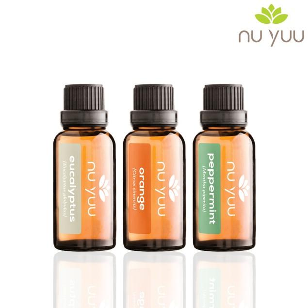 Mental Focus: Eucalyptus, Orange, Peppermint