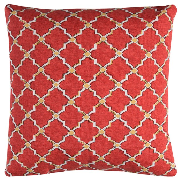 "Rizzy Home Tfv083 22"" X 22""  Indoor/ Outdoor Throw Pillows"