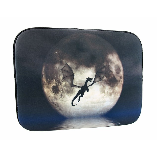 Julie Fain `Dragon Moon` Neoprene Tablet Sleeve Touch Screen Tablet