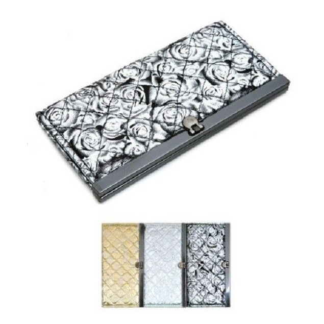 FASHION ASSORTED FLOWER PRINT POLYESTER WALLET